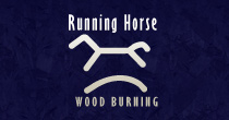 Running Horse Wood Burning